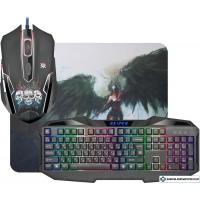 Клавиатура + мышь с ковриком Defender Reaper MKP-018 RU