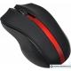 Мышь Oklick 615MW (черный/красный)