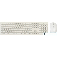 Клавиатура + мышь Oklick 240M (белый)