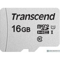 Карта памяти Transcend microSDHC 300S 16GB (TS16GUSD300S)