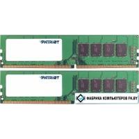 Оперативная память Patriot Signature Line 2x8GB DDR4 PC4-19200 PSD416G2400K