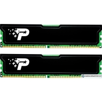Оперативная память Patriot Signature Line 2x8GB DDR4 PC4-21300 PSD416G2666KH