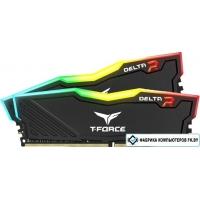 Оперативная память Team Delta RGB 2x8GB DDR4 PC4-25600 TF3D416G3200HC16CDC01