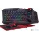 Клавиатура + мышь с ковриком + наушники Redragon S101-BA