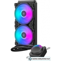 Кулер для процессора PCCooler GI-AH240U Halo RGB