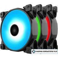 Вентилятор для корпуса PCCooler Halo RGB 3 Kit