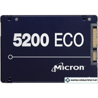 SSD Micron 5200 Eco 480GB MTFDDAK480TDC-1AT1ZABYY