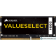 Оперативная память Corsair Value Select 8GB DDR4 SO-DIMM PC4-17000 [CMSO8GX4M1A2133C15]