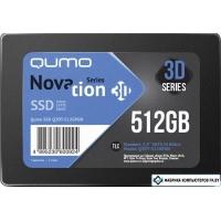 SSD QUMO Novation 3D TLC 512GB Q3DT-512GPGN