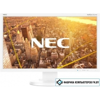 Монитор NEC MultiSync E233WMi (белый)