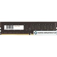 Оперативная память QUMO 4GB DDR4 PC4-19200 QUM4U-4G2400C16