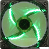 Вентилятор для корпуса GameMax WindForce 4x Green LED (120 мм) [GMX-WF12G]