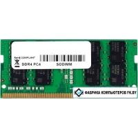 Оперативная память Foxline 4GB DDR4 SODIMM PC4-17000 FL2133D4S15-4G