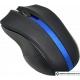 Мышь Oklick 615MW (черный/синий) [412862]