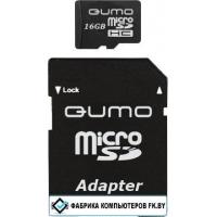 Карта памяти QUMO microSDHC (Class 6) 8GB (QM8GMICSDHC6)