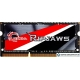 Оперативная память G.Skill Ripjaws 8GB DDR3 SODIMM PC3-12800 F3-1600C9S-8GRSL