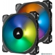 Вентилятор для корпуса Corsair ML140 Pro RGB 2 шт. (с контроллером)