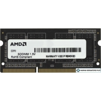 Оперативная память AMD Radeon Value 2GB DDR3 SO-DIMM PC3-10600 (R332G1339S1S-UO)