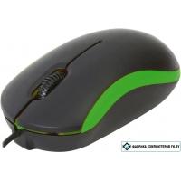 Мышь Omega OM-07 (черный/зеленый)