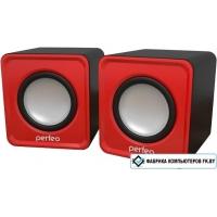 Акустика Perfeo PF-128 Wave (красный/черный)