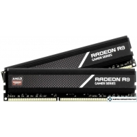 Оперативная память AMD Radeon R9 Gamer Series 2x8GB DDR4 PC4-24000 R9S416G3000U2K