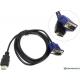 Кабель HDMI -> VGA KS-is KS-440 1.8 метра