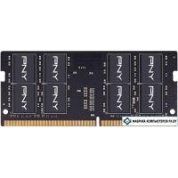 Оперативная память PNY Performance 16GB DDR4 SODIMM PC4-21300 MN16GSD42666