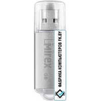 USB Flash Mirex Unit Silver 4GB [13600-FMUUSI04]