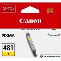 Картридж Canon CLI-481 Y