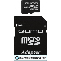 Карта памяти QUMO microSDHC (Class 4) 4GB (QM4GMICSDHC4)