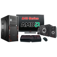 """Компьютер Игровой c монитором 22"""" AMD 25080"""