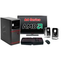 """Компьютер Офисный c монитором 24"""" AMD 13684"""