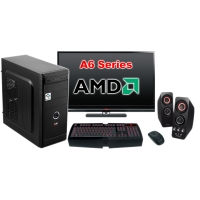 """Компьютер Оптимальный c монитором 24"""" AMD 16616"""