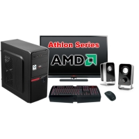 """Компьютер Игровой c монитором 24"""" AMD 17619"""