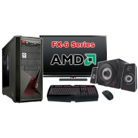 """Компьютер Игровой c монитором 24"""" AMD 18222"""