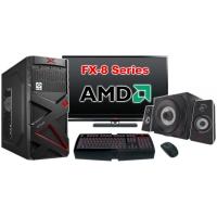"""Компьютер Игровой c монитором 22"""" AMD 24560"""