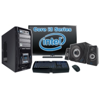 """Компьютер Игровой c монитором 24"""" Intel 20086"""