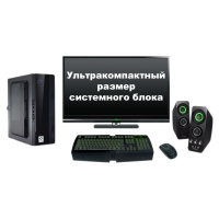 """Компьютер Ультракомпактный с монитором 24"""" Intel 37165"""