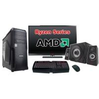 """Компьютер Игровой c монитором 24"""" AMD Ryzen 102924"""