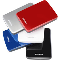 Внешний жесткий диск Toshiba Stor.e Canvio Red 500GB (HDTC705ER3AA)