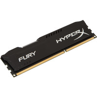 Оперативная память Kingston HyperX Fury Black 4GB DDR3 PC3-12800 (HX316C10FB/4)