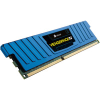 Оперативная память Corsair Vengeance Blue 8GB DDR3 PC3-12800 (CML8GX3M1A1600C10B)