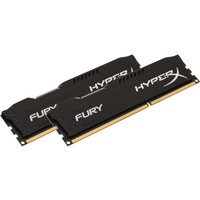 Оперативная память Kingston HyperX Fury Black 2x4GB KIT DDR3 PC3-10600 (HX313C9FBK2/8)