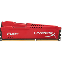 Оперативная память Kingston HyperX Fury Red 2x8GB KIT DDR3 PC3-14900 (HX318C10FRK2/16)
