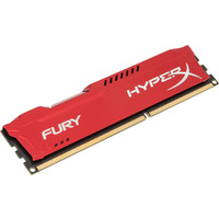 Оперативная память Kingston HyperX Fury Red 4GB DDR3 PC3-12800 (HX316C10FR/4)