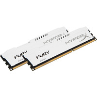 Оперативная память Kingston HyperX Fury White 2x8GB KIT DDR3 PC3-14900 (HX318C10FWK2/16)
