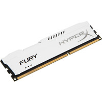 Оперативная память Kingston HyperX Fury White 4GB DDR3 PC3-12800 (HX316C10FW/4)