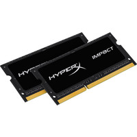 Оперативная память Kingston HyperX Impact 2x4GB KIT DDR3 SO-DIMM PC3-12800 (HX316LS9IBK2/8)