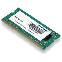 Оперативная память Patriot Signature 4GB DDR3 SO-DIMM PC3-10600 (PSD34G133382S)