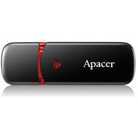 USB Flash Apacer AH333 Black 64GB (AP64GAH333B-1)
